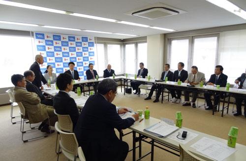 福島県連第1回常任幹事会開催さ...